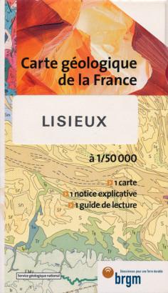 Carte géologique de la France,Lisieux