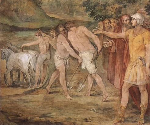 La fondation de Rome par Romulus