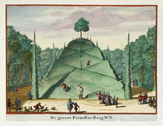 De groene Parnassus Berg