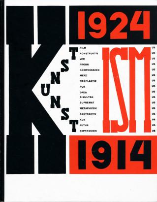 Die Kunstismen 1914-1924