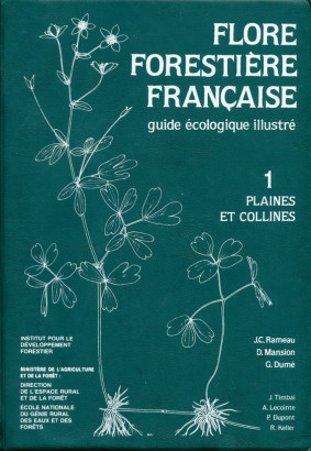 Flores forestière française 1 plaines et collines