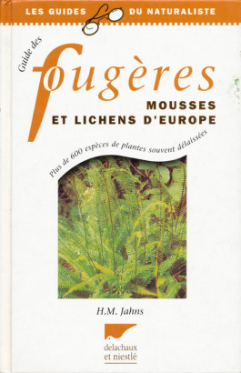 Fougères mousses et Lichens D'Europe