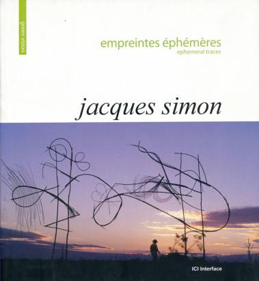 Jacques Simon empreintes éphémères