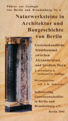 Naturwerksteine in architektur und baugeschichte von Berlin