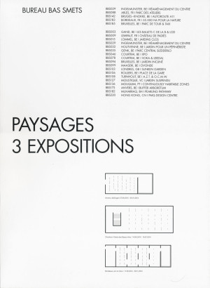 Paysages 3 expositions