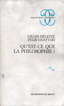Qu'est ce que la philosophie