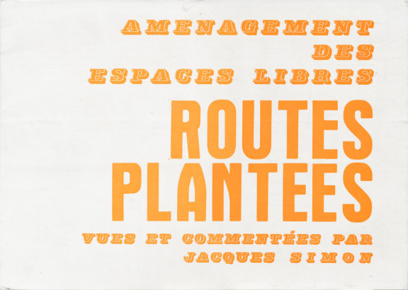 Routes plantées