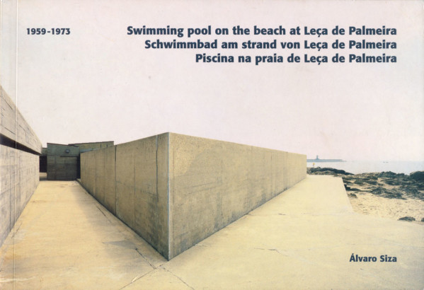Swimming pool on the beach at Leca de Palmeira
