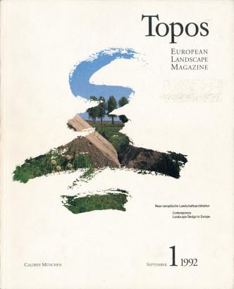 Topos 1 Neue europäiche Landschaftsarchitecktur