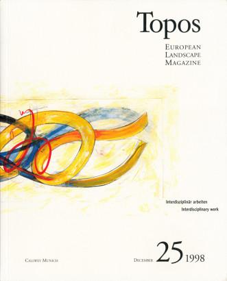 Topos 25 Interdisziplinär arbeiten
