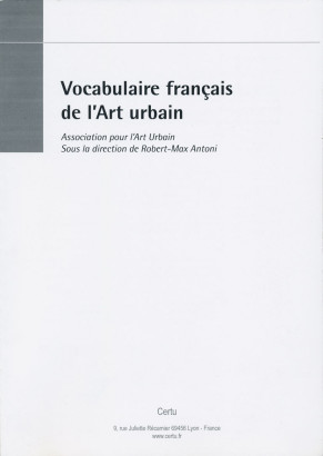 Vocabulaire français de l'art urbain