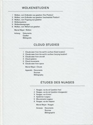 Wolkenstudien, Cloud Studies, Etudes des nuages