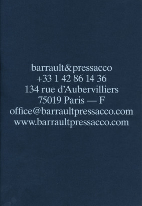 Barrault & Pressacco