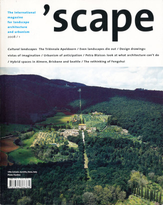 Scape 1 2008 The International Magazine For Landscape Architecture and Urbanism