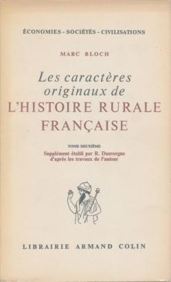 L'histoire rurale française tome deuxième