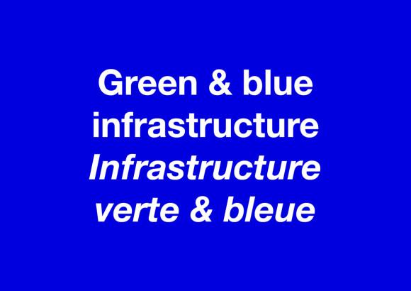 Infrastructure verte et bleue