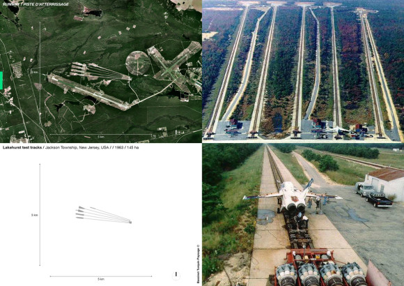 Lakehurst test tracks