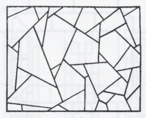 Modéle de motif en craquelure de glace