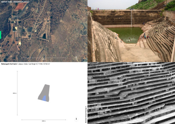 Nahargarh fort tank