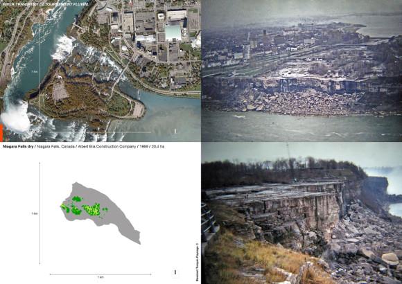 Niagara Falls dry