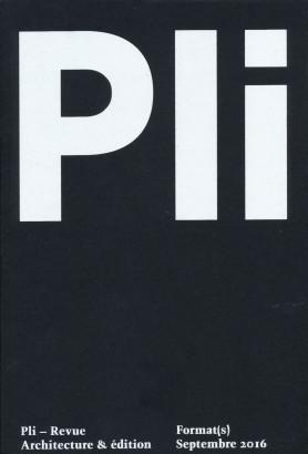 Pli 02 Format(s)