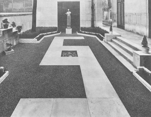 Jardin pour Jacques Rouché