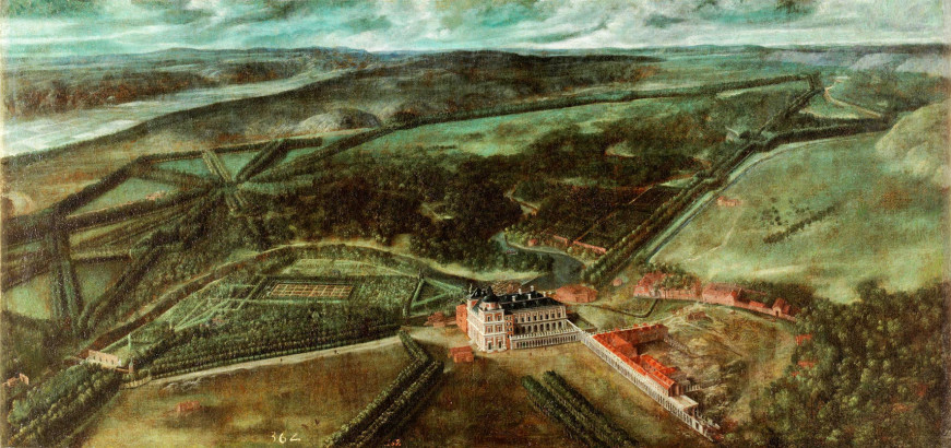 Vista del Real Sitio de Aranjuez