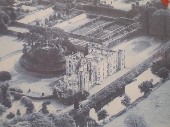 Antrim castle motte