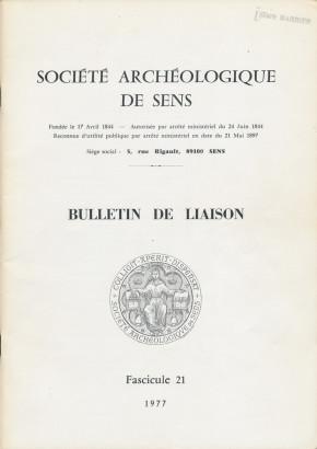Bulletin de liaison fascicule 21