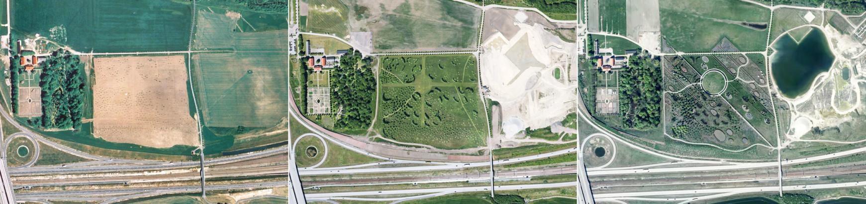 Millenieskogen 2001, 2012, 2016