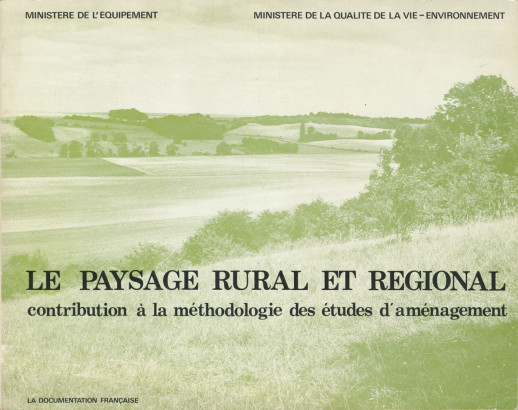 Le paysage rural et régional